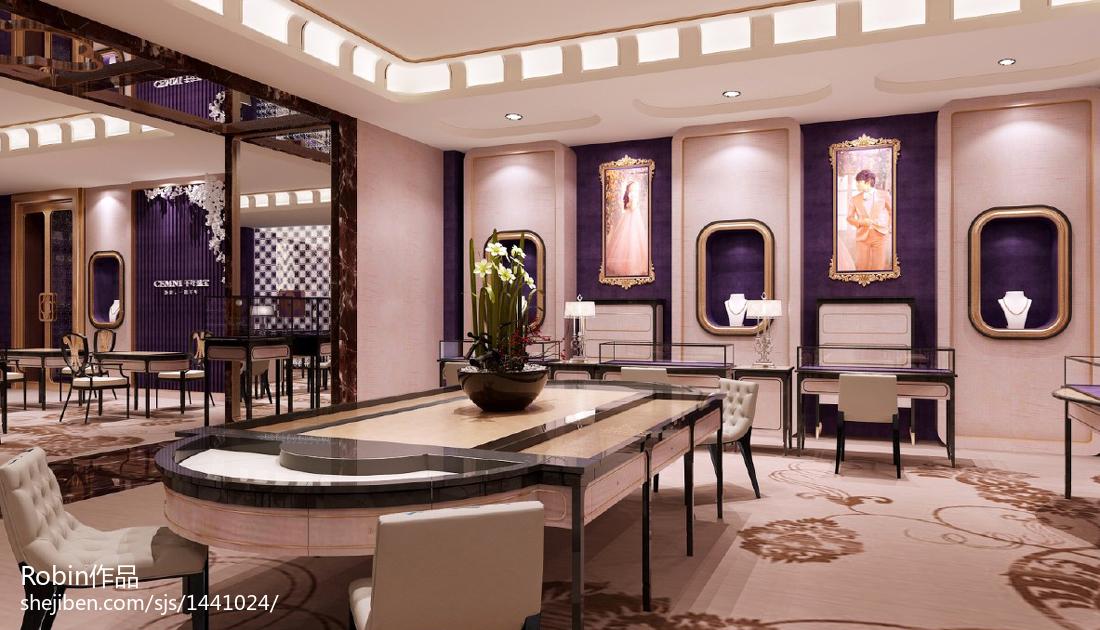 珠宝柜台设计