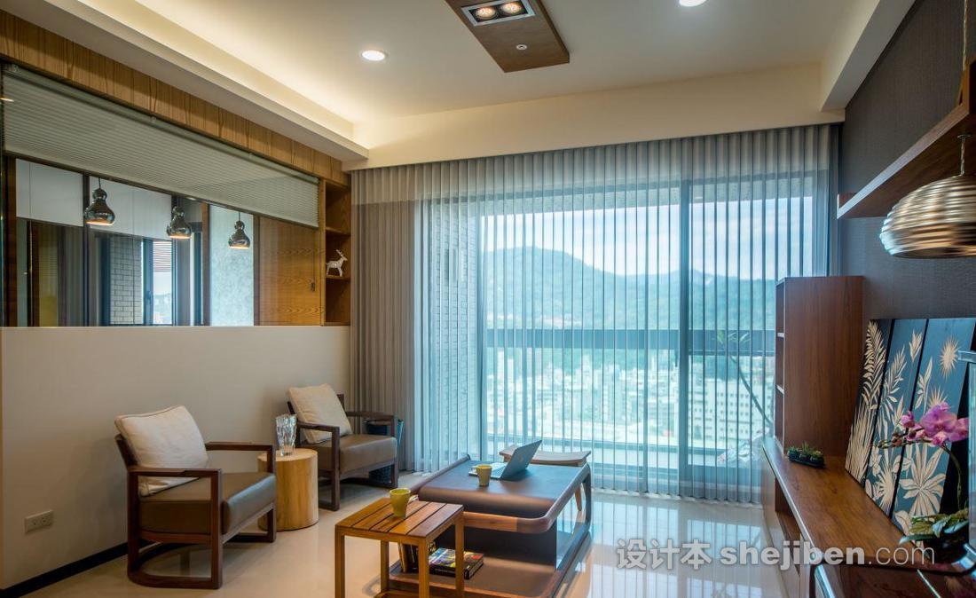 客厅休闲区设计