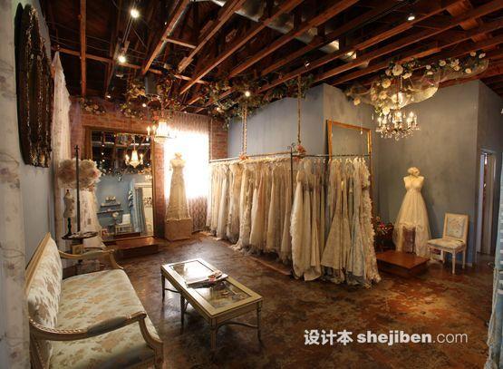 婚纱店橱窗设计
