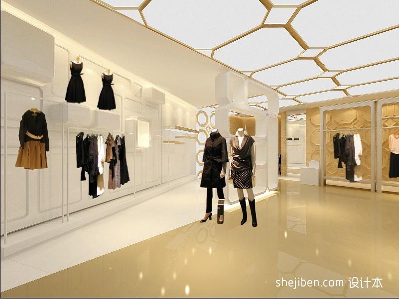 女装店橱窗设计