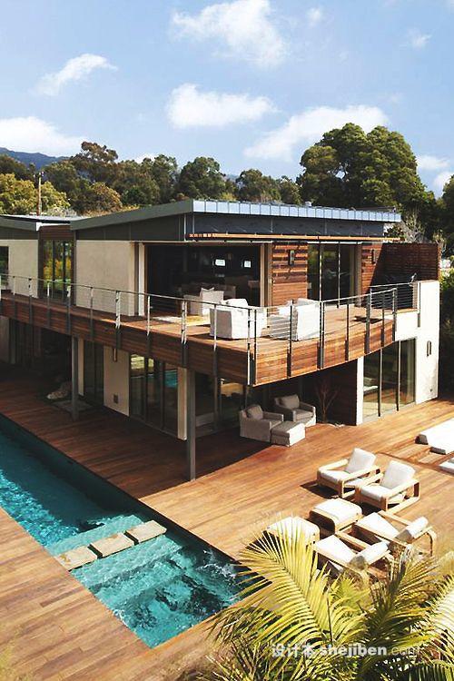 木结构别墅设计