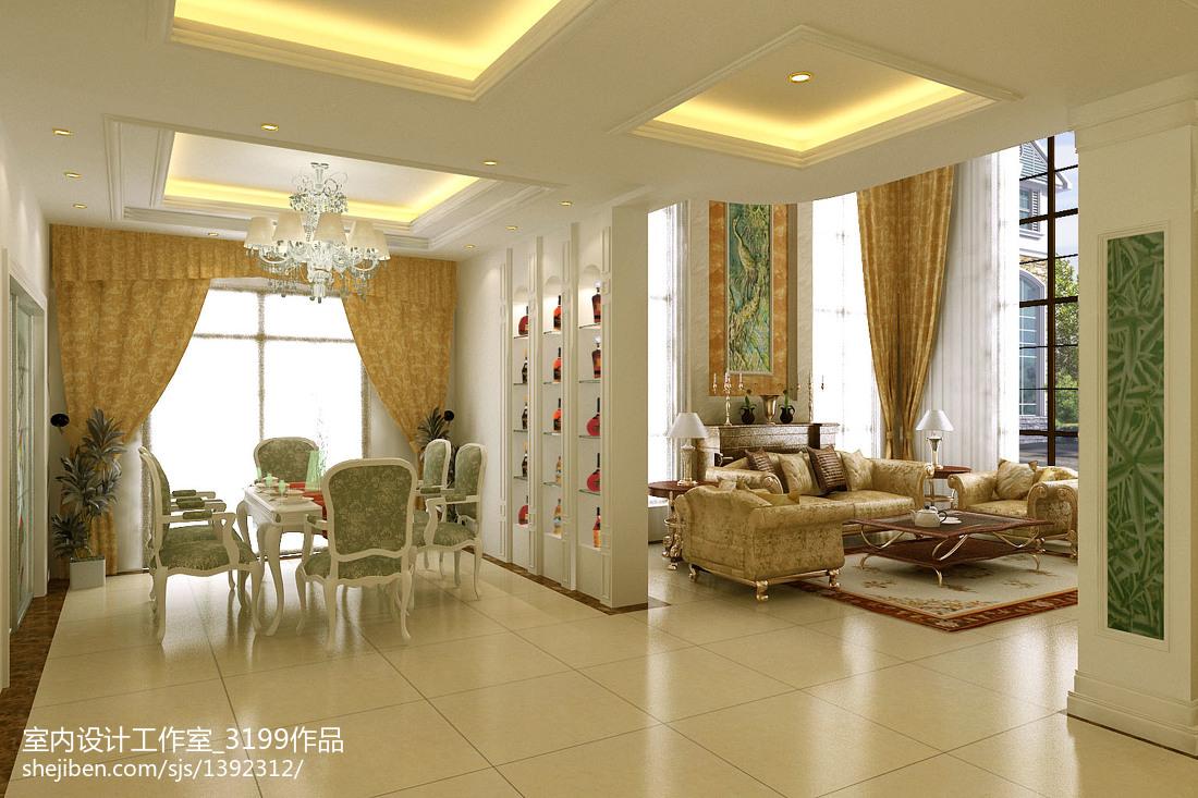 客廳軟裝飾設計