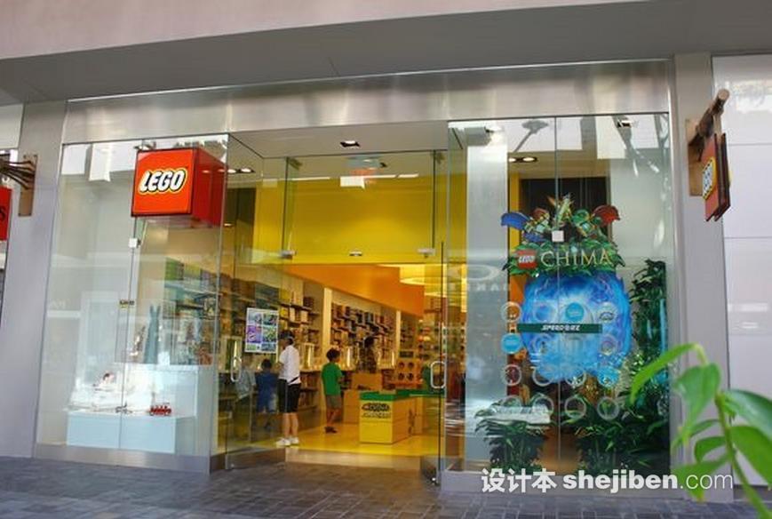 玩具店橱窗种类