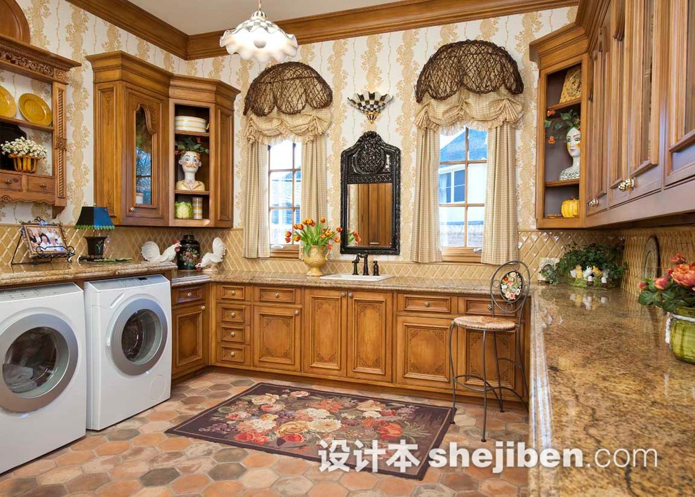 别墅洗衣房设计