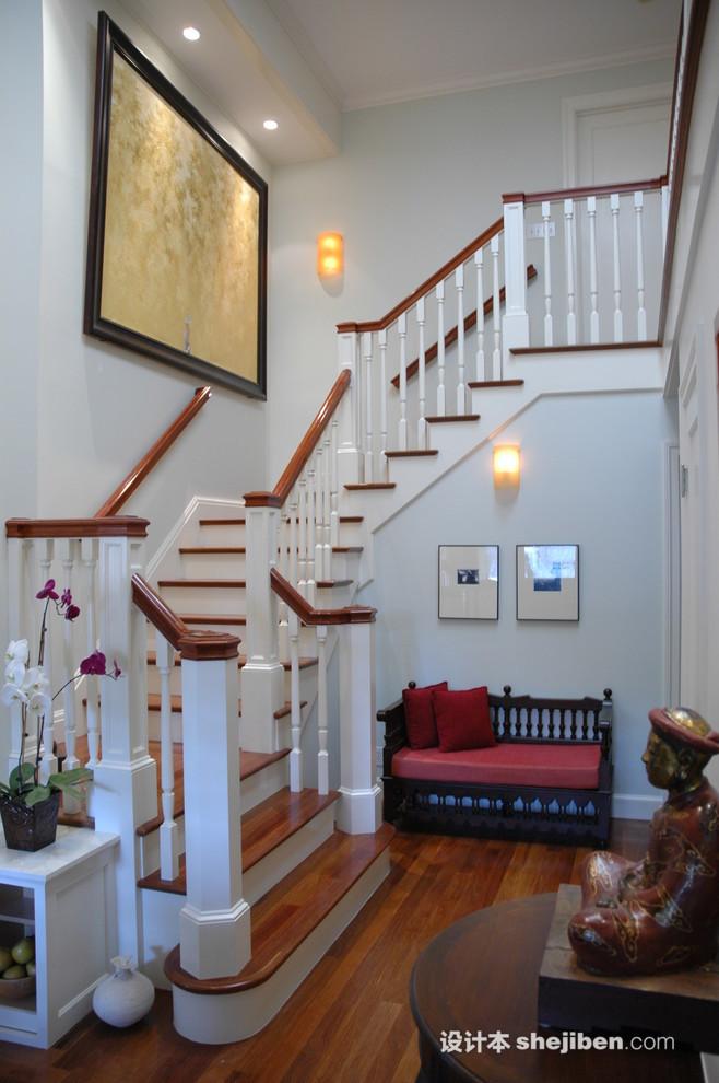 鋼木樓梯扶手