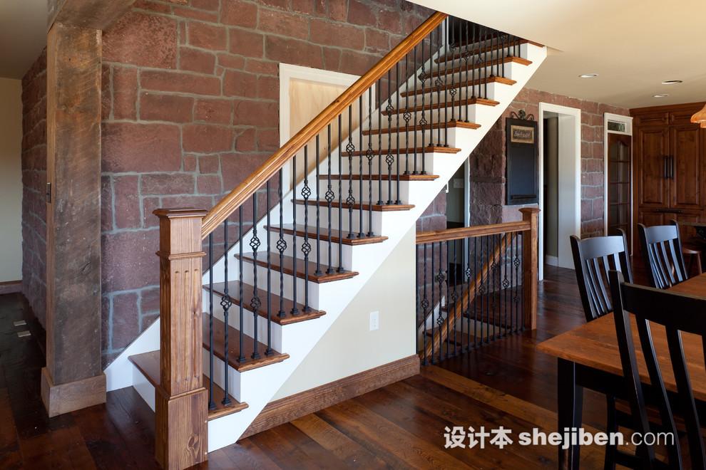 实木楼梯扶手安装方法