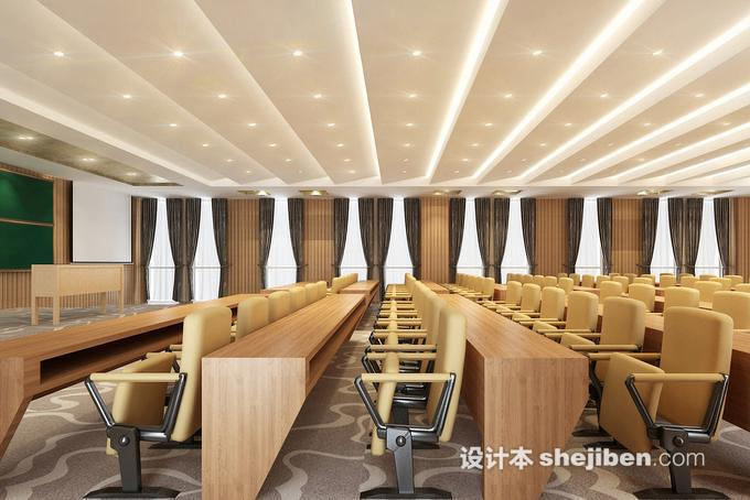 学校多功能厅设计