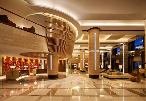 酒店大堂的设计风格