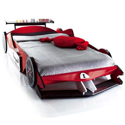 包邮实木出口儿童床 汽车床 赛车床 F1跑车床 卡通床 男孩单人床