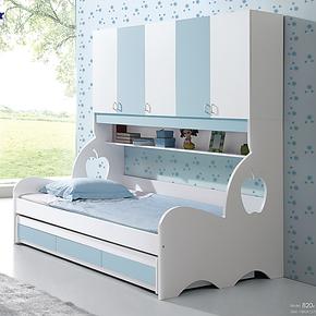 晓度 衣柜床 儿童床 男孩 公主 多功能组合床 子母床 A820