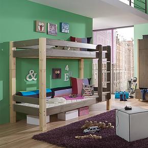 suwem 全实木双层上下床 进口松木子母床儿童床高低床全国包邮
