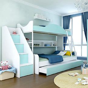 儿童床 高低床 双层床 子母床 母子床 儿童套房上下床 简约包物流