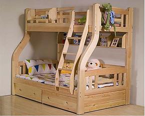 淘品牌 博恋松木儿童床/实木床/儿童上下床/双层床/子母床/高低床
