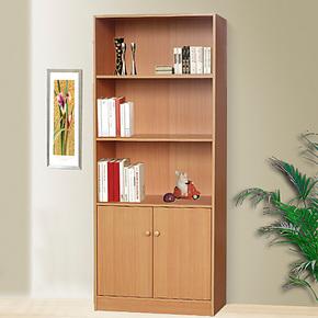 福润时尚自由组合带门书柜/书架 儿童书橱橱柜置物柜收纳柜储物柜