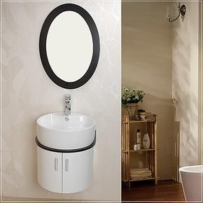 新款特价卫浴柜 PVC浴室柜洗脸盆浴柜面盆洗脸盆台上盆洗手盆柜