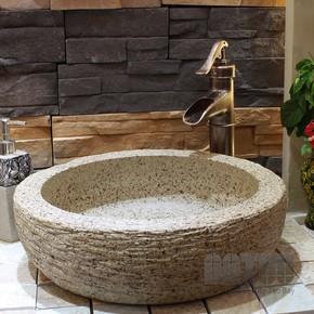 美陶湾艺术盆、洗手盆、洗脸盆、台上柜盆、南国陶都洞石艺术台盆