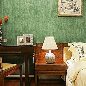 歌诗雅墙纸 客厅卧室餐厅背景墙 复古美式乡村纯色壁纸12祖母绿色