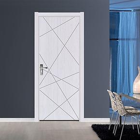 克莱蒂P-001实木复合门室内门实木门免漆门烤漆门防火门生态门