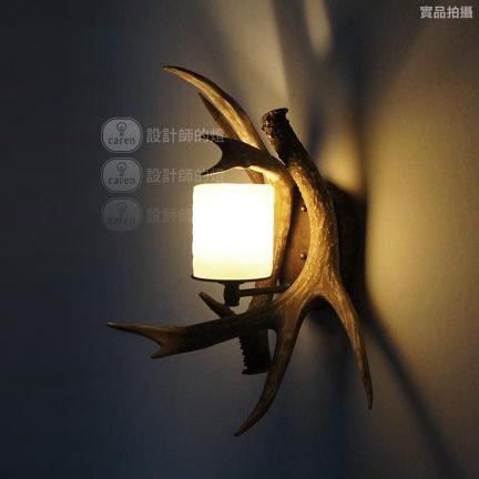 【设计师的灯】复古北欧美式乡村田园餐厅酒吧台灯别墅 鹿角壁灯