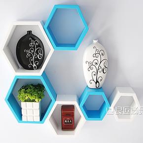 壁架创意格子格架背景墙装饰柜壁柜墙柜壁挂置物架搁架隔板搁板