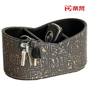 7折特卖包邮帝梵复古埃及遥控器收纳盒钥匙盒创意可爱韩国皮革