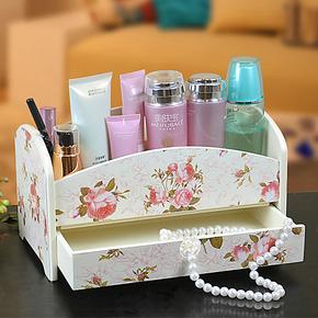 创意家居日式遥控器盒首饰化妆品储物盒杂物整理盒创意桌面收纳盒