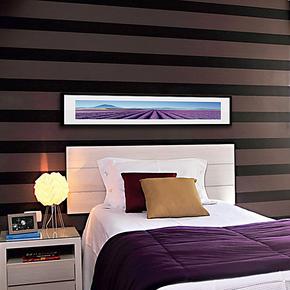 天画现代装饰画简框画卧室酒店床头画背景墙挂画壁画墙画时尚典雅