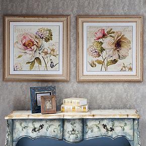 美画装饰画高端欧美风客厅卧室玄关挂画酒店壁画美式餐厅画XD001