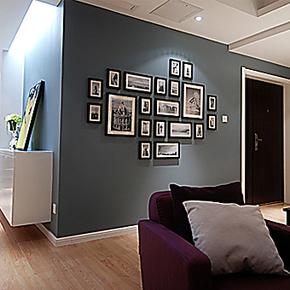 凯斯黛尔 进口实木照片墙相片墙创意相框组合大墙面时尚相框像框
