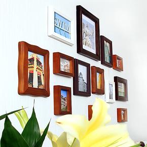 百特好 照片墙相框墙 组合创意 奢爱S款SH-1301 欧式实木