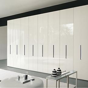 维玛家居新款现代简约卧室整体衣柜开门衣柜定制定做正品 MQZB019