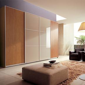 维玛家居 整体移门衣柜 双移门衣柜 定制定做 品质保证CUZB038