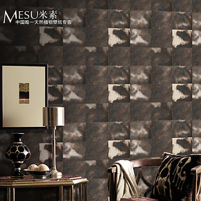 米素壁纸 现代简约无纺布背景墙纸 客厅卧室电视墙背景 奶牛印象