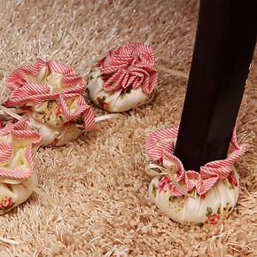 【罗迪妮】布艺高档桌子椅子脚套脚垫防滑防噪音保护套垫新款特价