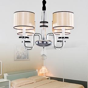 【家家燕】现代简约吊灯餐厅卧室铁艺创意灯具北欧宜家简欧8095/4