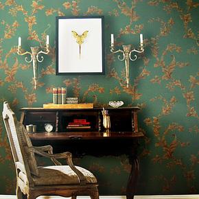 T布吕克纳无纺布墙纸 欧式小莨苕叶客厅卧室背景环保壁纸 MG-03