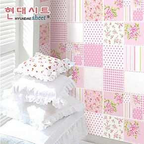 磨砂粉色pvc自粘墙纸 温馨卧室家居装饰环保女孩儿童房壁纸 特价