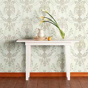 环保无纺布墙纸 卧室客厅欧式壁纸 高档洒金工艺家居墙纸