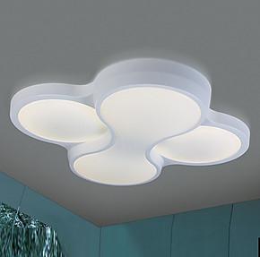 兰亭集势 创意四叶草吸顶灯 现代简约书房灯时尚卧室灯饰客厅灯具