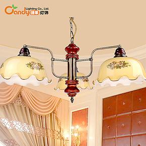 现代欧式美式乡村古典吊灯灯饰客厅卧室餐厅书房创意简约北欧灯具