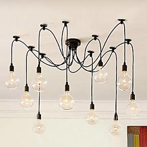 【Artslight】工业风玻璃客厅餐厅卧室吊灯 现代简约创意个性吊灯