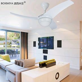 波西米亚灯饰带风扇的吊灯客厅餐厅卧室个性创意简约现代风扇灯具