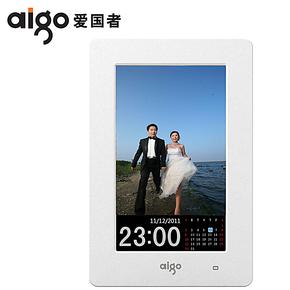 正品爱国者数码相框DPF916 高清6英寸相册 竖版电子相框 智能感光