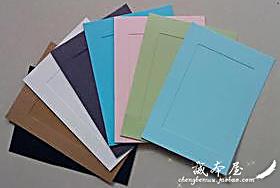 韩式个性DIY麻绳悬挂卡纸相框 照片墙用 彩色纸质相框墙 3寸/6寸