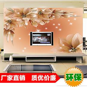 大型壁画 壁纸墙纸 沙发客厅卧室电视背景墙装饰画 浪漫