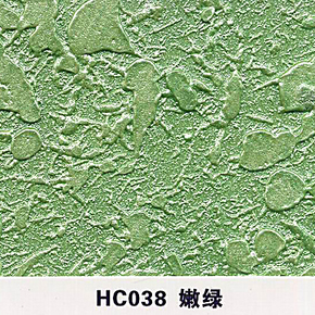 液体壁纸印花漆液体墙纸涂料墙艺漆液态壁纸滚花模具幻彩漆嫩绿色