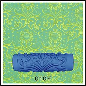 欧式液体壁纸滚花模具液体墙纸油漆印花滚筒刷墙漆印花滚筒010Y