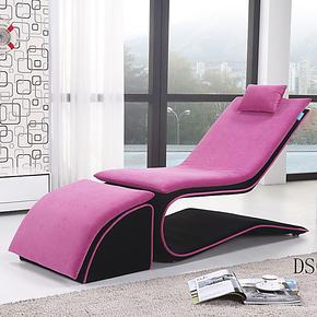 休闲沙发创意单人  懒人沙发休闲椅 时尚布艺沙发组合 沙发床躺椅