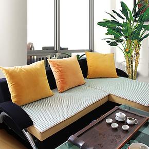 沙发垫 夏天 凉垫办公椅垫布艺沙发垫晶彩陶瓷坐垫冰垫飘窗垫定做