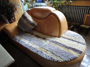冬季防滑保暖坐垫【雪尼尔沙发垫】防滑垫/可订制/岚洁梦/不掉毛